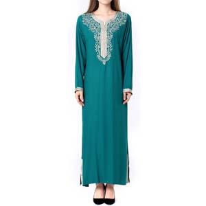 full length Lace kaftans