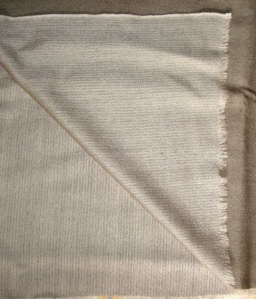 Reversible Silk Shawls
