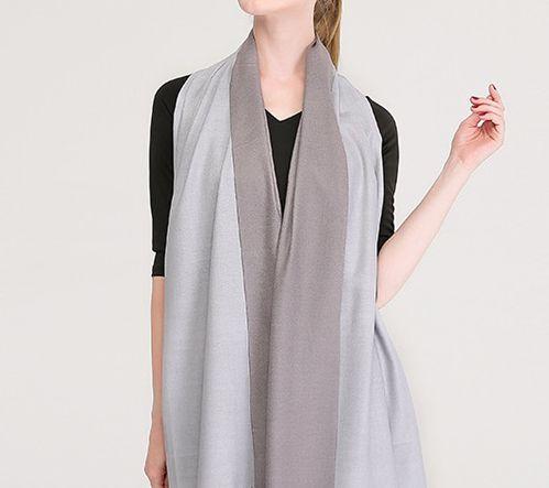 Reversible Scarves | Silk Pashmina Winter Shawls