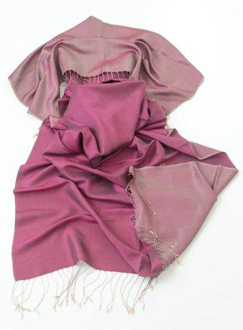 Reversible Silk Pashminas