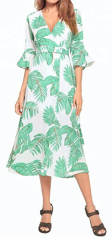 Bohemian Chiffon Kaftan Dresses