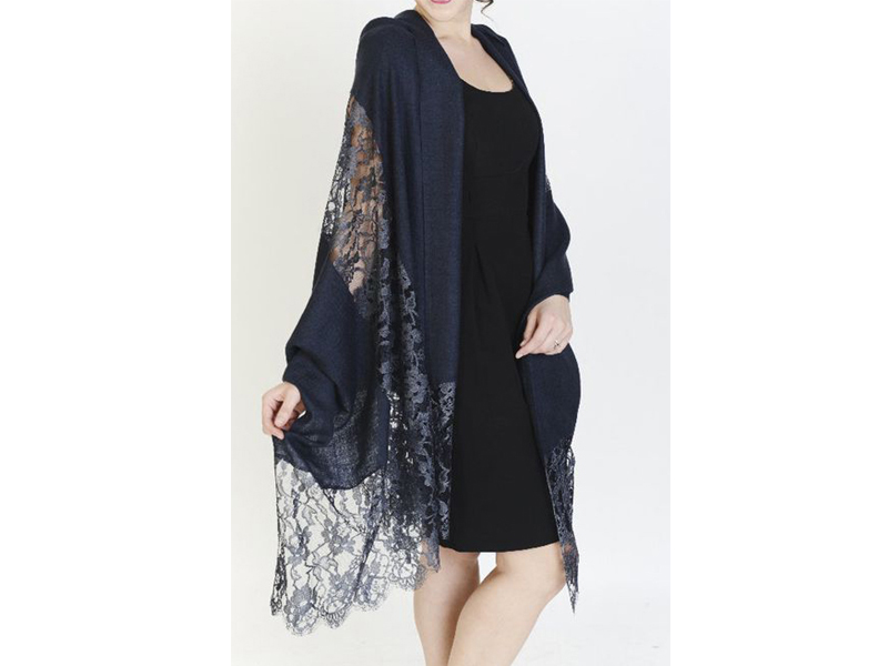 Border Lace Hijab Scarves