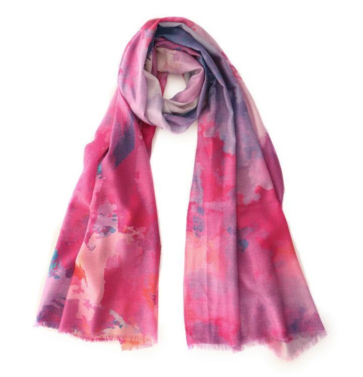 روسری های پشمی ابریشم