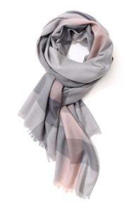 Unisex Plaid Cashmere Feels Winter Scarves