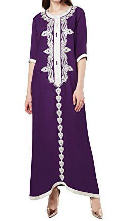 Bulk Caftan Dresses With Embroidery Styles