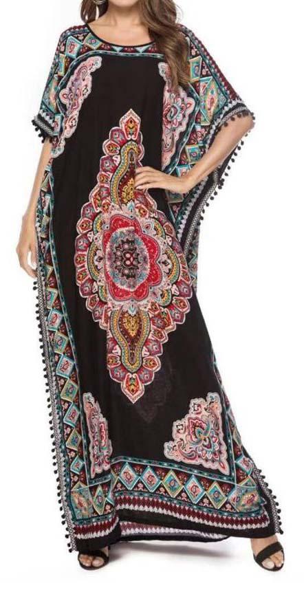 Cotton Kaftan Dress Manufacturers