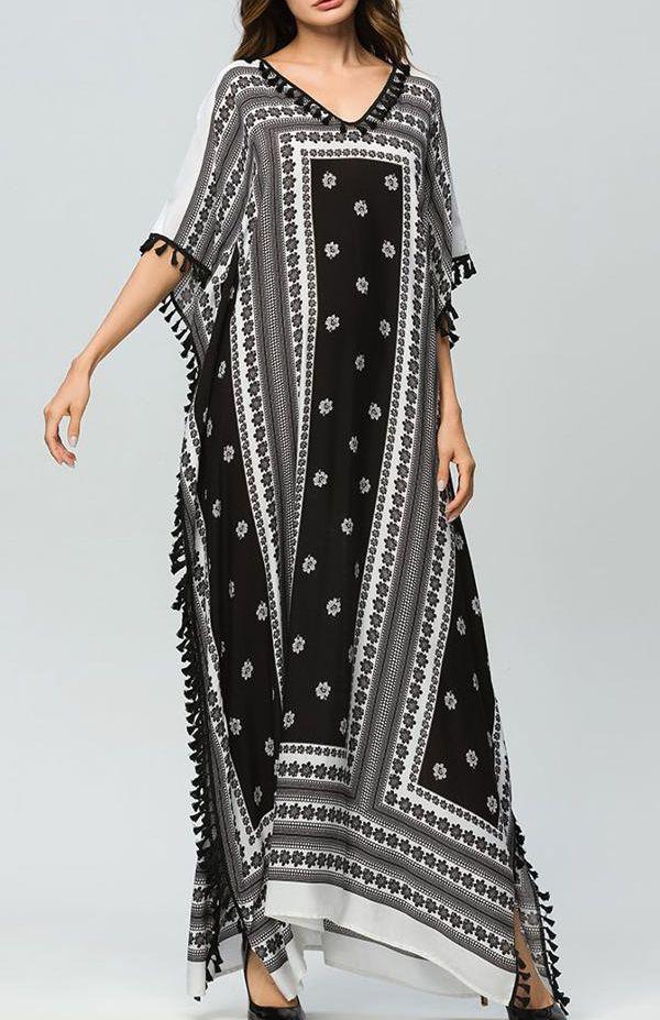 Bulk Printed Kaftan Dresses Suppliers