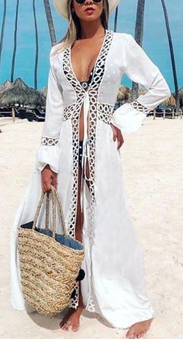 beach kimonos and wrap arounds for resort wear.