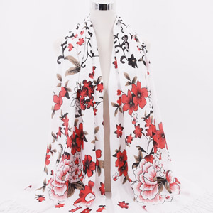 wholesale silk scarves and scarf design factory in india