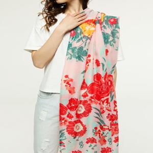 Floral bandana Italian Scarves