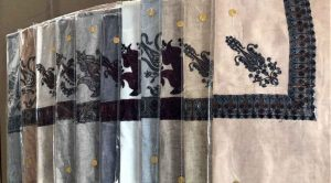 gents kashmiri arabic shawls pure wool pashmina Mussar Omani Arab Scarf Kashmiri Wool Turma