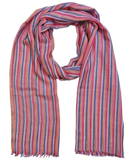 Mens Striped Scarf | Unisex Scarves