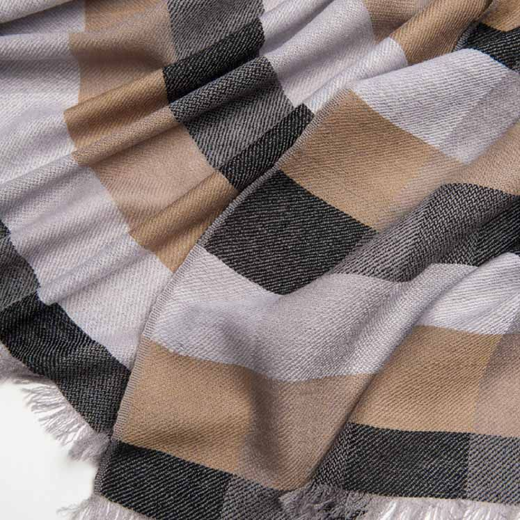 Checked Scarf | Unisex Scarves for Men and Women