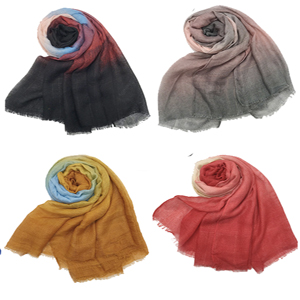 Graded and Shaded Ombre Shawls
