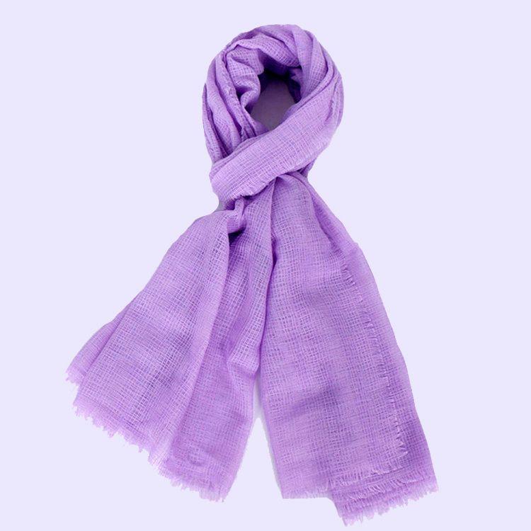 Linen Scarf Shawl and Wraps | Women's Plain Scarves