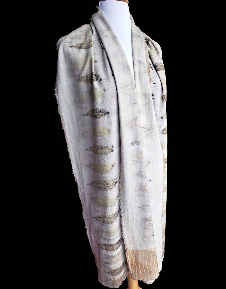 Noil Silk Printed Scarf & Shawls