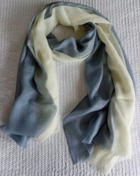 Two Tone Wrap Scarves & Stole