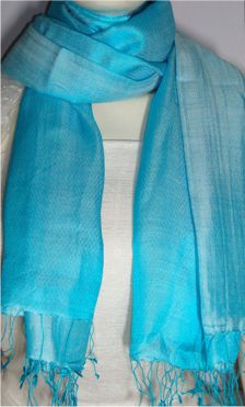 Modal Silk Handmade Scarf and Shawls from Kashmirstorz