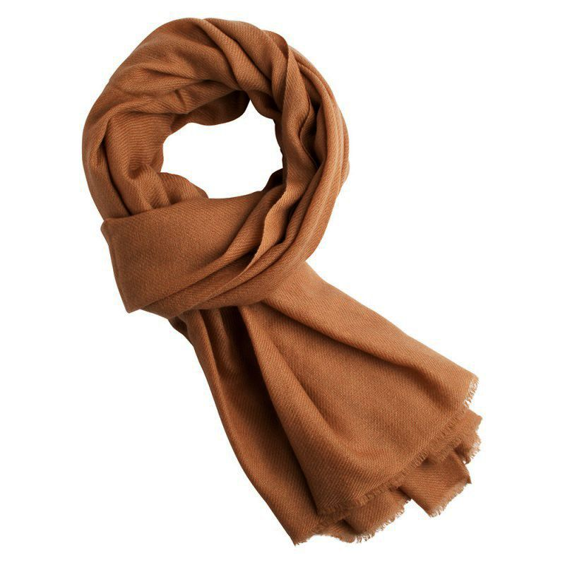 Wool Scarves | Plain Merino Wool Scarf for Men & Women