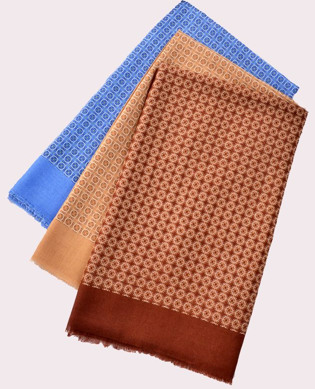 Printed Square Scarf for Arab Men