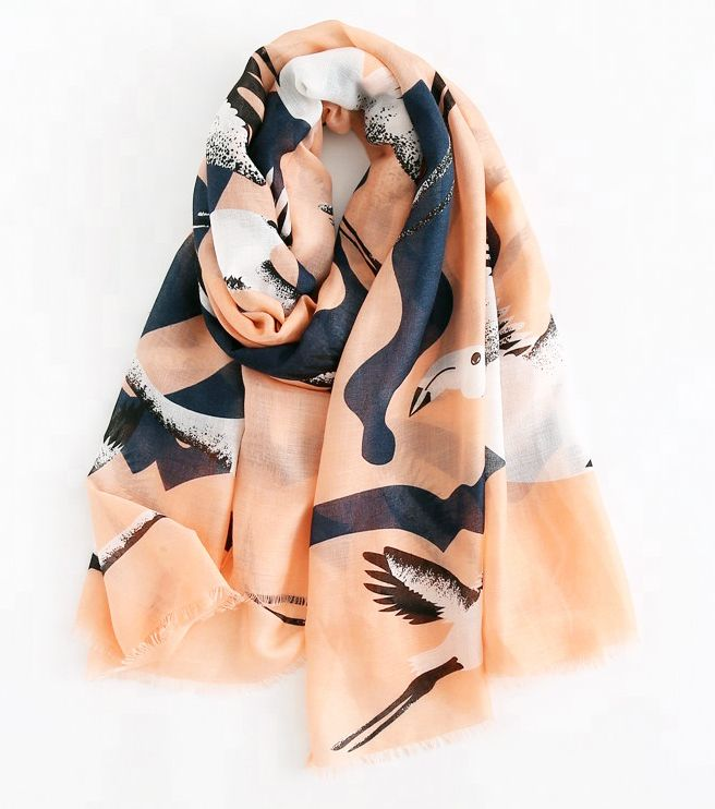 Custom Printed Cotton Scarf | Digital Print Indian Shawl