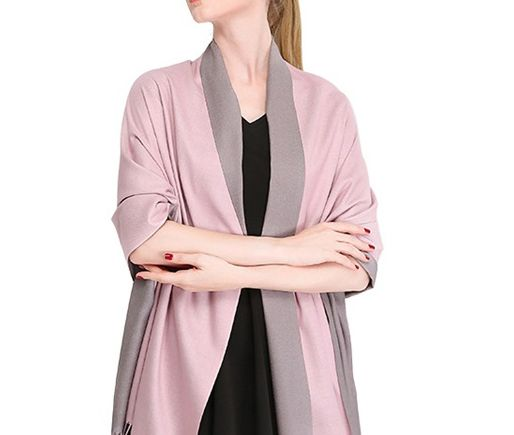 Reversible Cashmere Pashmina Suppliers and Manufacturers