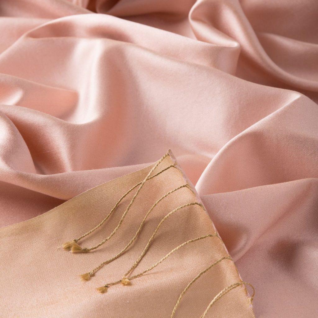 Double Sided Reversible Fashion WinterSilk PashminaJacquardScarvesShawls