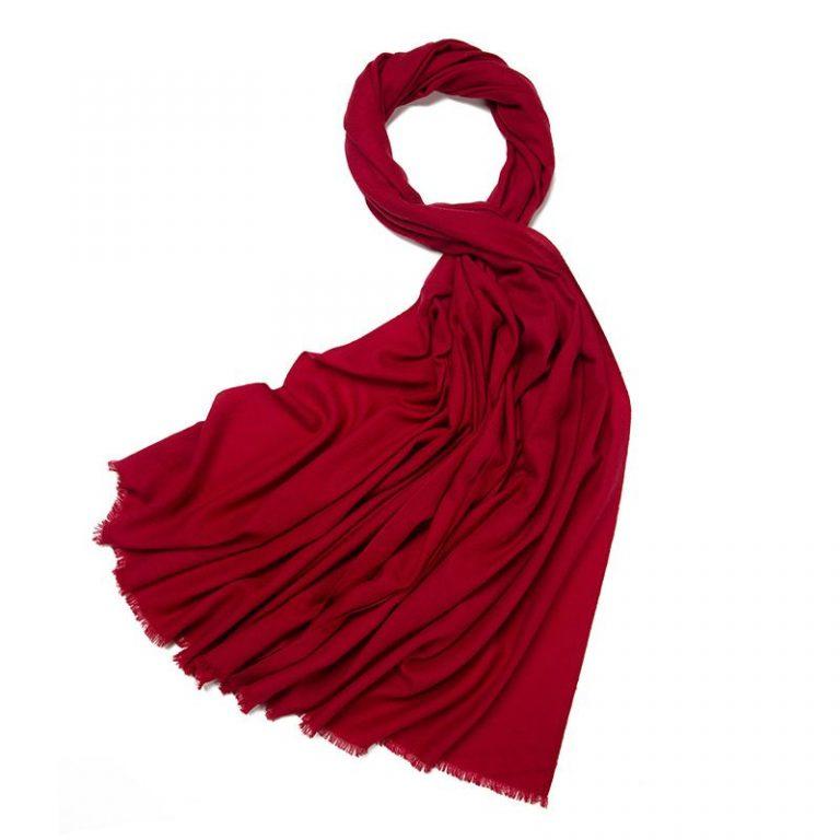 Wool Scarves | Plain Merino Wool Scarf for Men & Women
