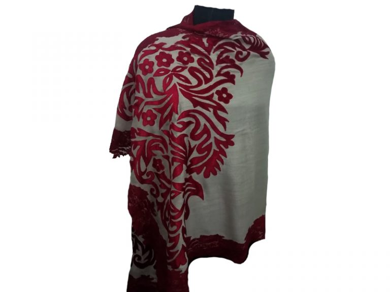 Velvet Applique Pashmina Scarves