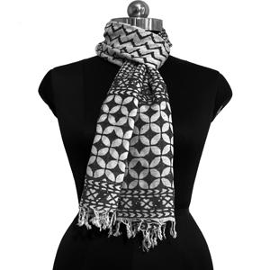 Block Printed Eco Friendly shawls