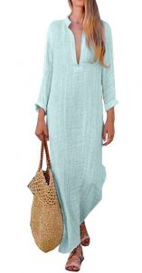 V Neck Kaftans for Women