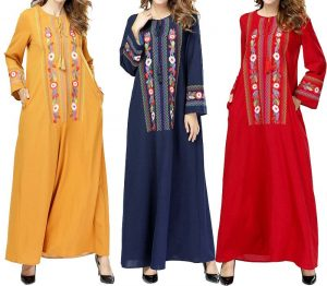 long sleeve kaftans
