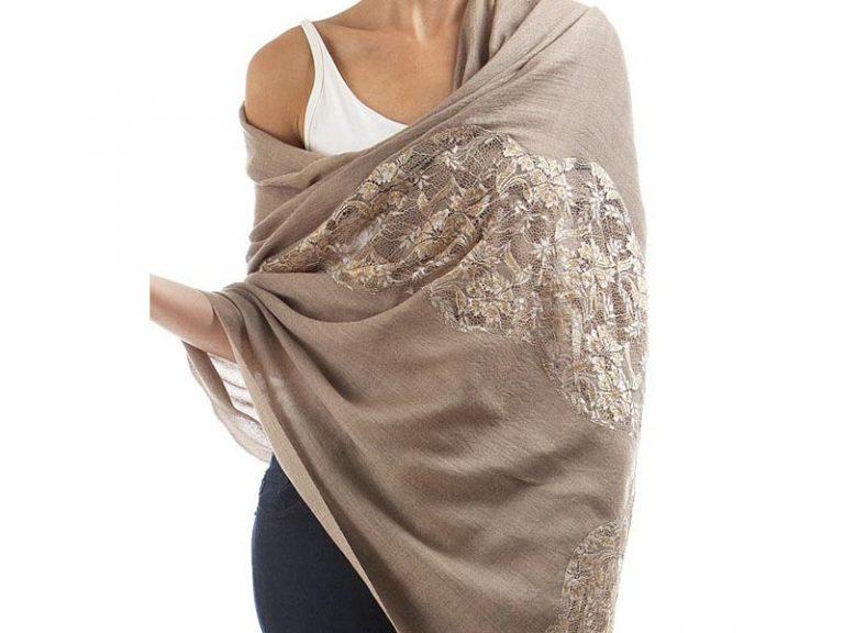 Chiffon Lace hijabs