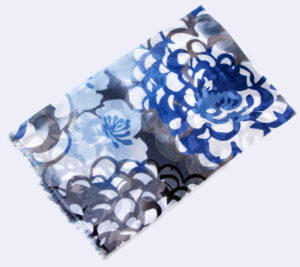 Ethical Printed Bamboo handmade Scarves