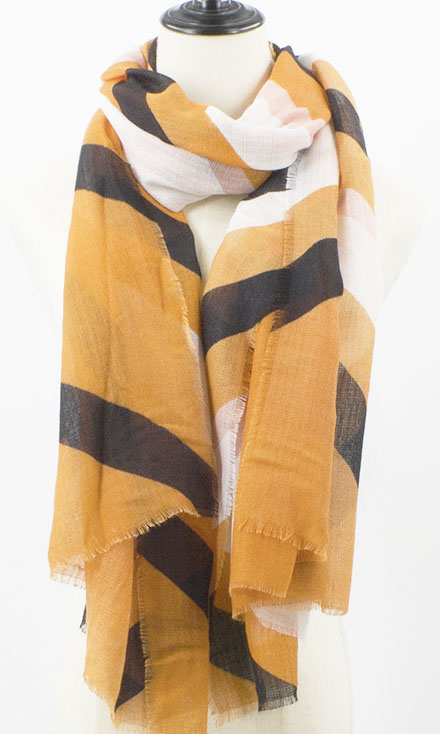 Hand painted shawls in Bamboo fabric