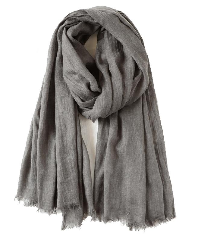 Plain Single colour Linen Scarf and Wraps