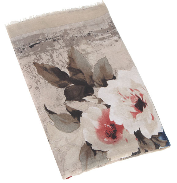 Printed Linen Scarves and Wraps