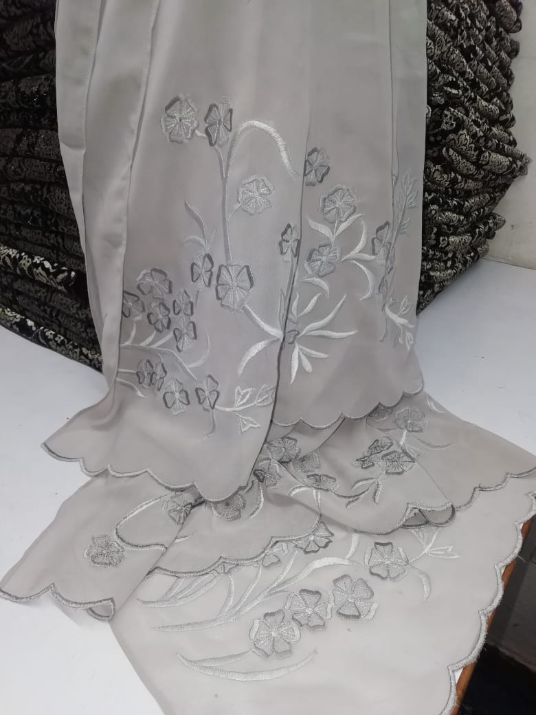 Embroidered Silk Shawls and Scarves