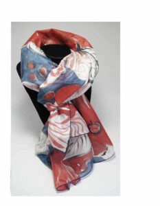 hand painted scarves shawls and stoles