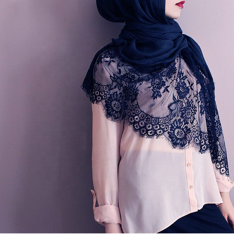 Lace Edge Scarf Suppliers