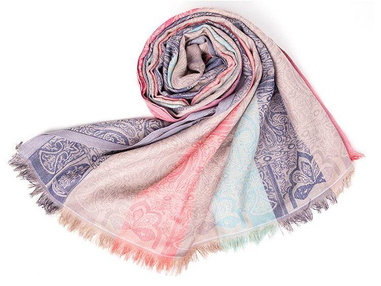 Wool jamawar shawls